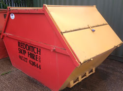 Enclosed Skip Hire from Redditch Skip Hire